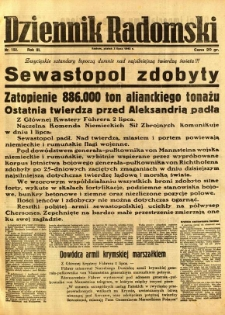 Dziennik Radomski, 1942, R. 3, nr 152