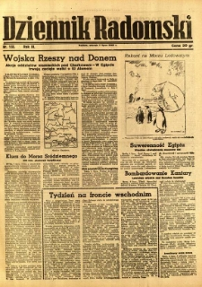 Dziennik Radomski, 1942, R. 3, nr 155