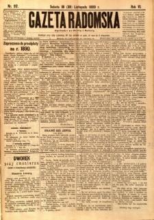 Gazeta Radomska, 1889, R. 6, nr 97