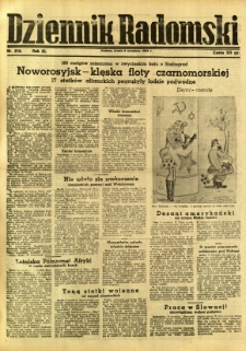 Dziennik Radomski, 1942, R. 3, nr 210