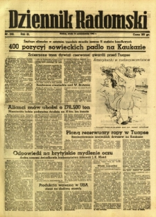 Dziennik Radomski, 1942, R. 3, nr 240