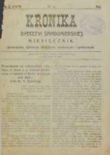 Kronika Diecezji Sandomierskiej, 1917, R. 10, nr 5