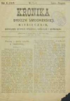 Kronika Diecezji Sandomierskiej, 1917, R. 10, nr 7/8