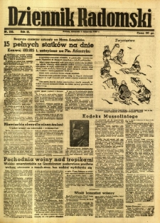 Dziennik Radomski, 1942, R. 3, nr 256