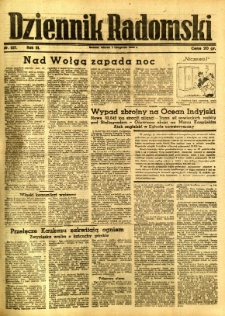 Dziennik Radomski, 1942, R. 3, nr 257
