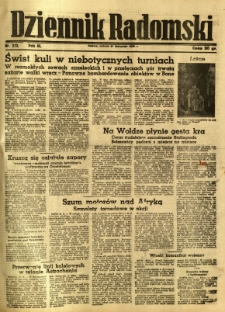 Dziennik Radomski, 1942, R. 3, nr 273