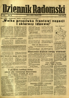 Dziennik Radomski, 1942, R. 3, nr 279