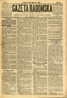 Gazeta Radomska, 1890, R. 7, nr 8