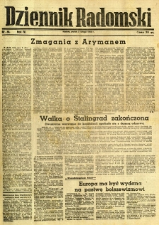 Dziennik Radomski, 1943, R. 4, nr 30