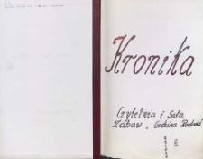 Kronika Czytelnia i Sala Zabaw Godzina Radości Księga III : 1999-2005