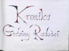 Kronika Godziny Radości Ks. V