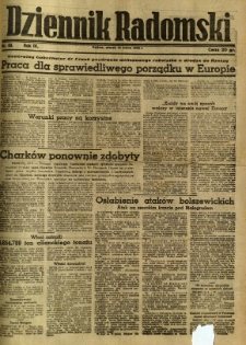 Dziennik Radomski, 1943, R. 4, nr 63