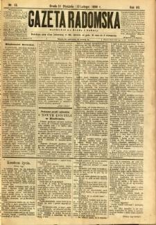Gazeta Radomska, 1890, R. 7, nr 13