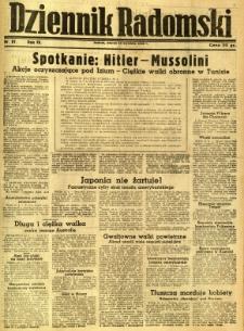 Dziennik Radomski, 1943, R. 4, nr 87