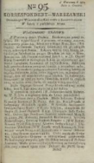 Korrespondent Warszawski, 1792, nr 95