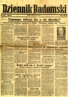 Dziennik Radomski, 1943, R. 4, nr 112