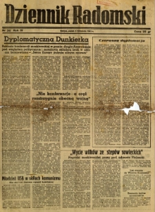 Dziennik Radomski, 1943, R. 4, nr 260