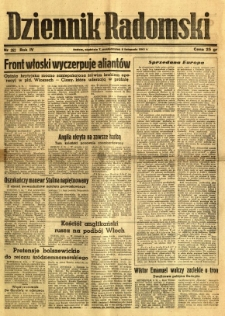 Dziennik Radomski, 1943, R. 4, nr 262