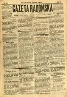Gazeta Radomska, 1890, R. 7, nr 19