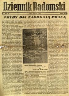 Dziennik Radomski, 1944, R. 5, nr 1