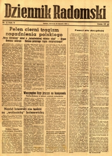 Dziennik Radomski, 1944, R. 5, nr 15
