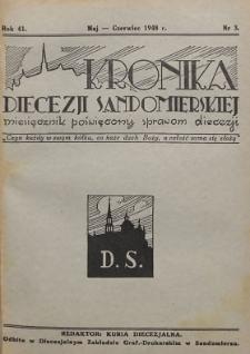 Kronika Diecezji Sandomierskiej, 1948, R. 41, nr 3