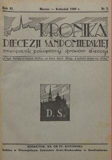 Kronika Diecezji Sandomierskiej, 1949, R. 42, nr 2