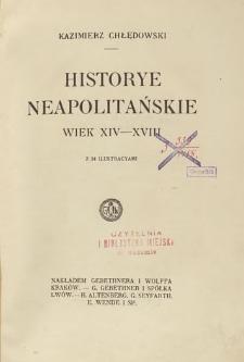 Historye neapolitańskie : wiek XIV-XVIII