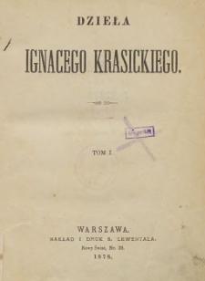 Dzieła Ignacego Krasickiego T. 1