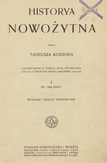 Historya nowożytna 1, Do 1648 roku