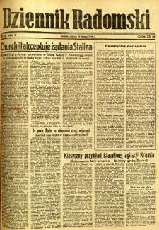 Dziennik Radomski, 1944, R. 5, nr 47