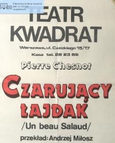 """Pierre Chesnot """"Czarujący łajdak"""" / Teatr Kwadrat w Warszawie"""