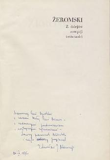 Zdzisław Jerzy Adamczyk - autograf
