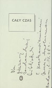 Janusz Anderman - autograf