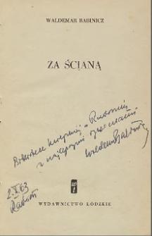 Waldemar Babinicz - autograf
