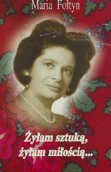 Maria Fołtyn - autograf