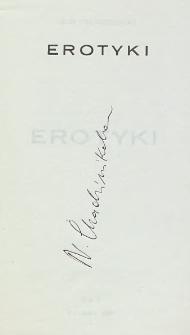 Nikos Chadzinikolau - autograf