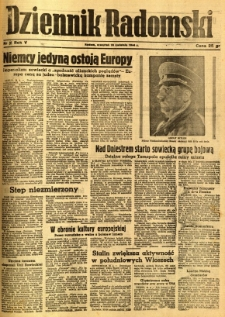 Dziennik Radomski, 1944, R. 5, nr 91