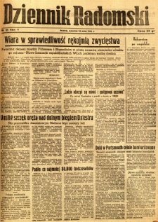 Dziennik Radomski, 1944, R. 5, nr 121