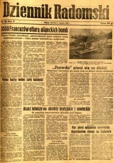 Dziennik Radomski, 1944, R. 5, nr 126