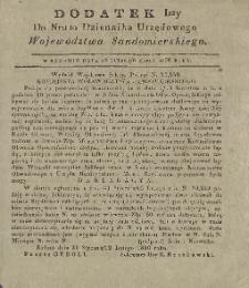 Dziennik Urzędowy Województwa Sandomierskiego, 1836, nr 10, dod. I