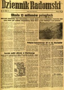 Dziennik Radomski, 1944, R. 5, nr 149