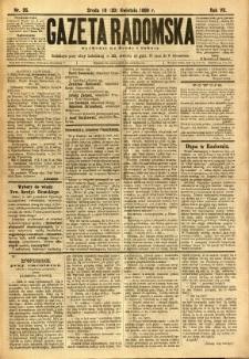 Gazeta Radomska, 1890, R. 7, nr 35
