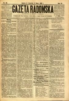 Gazeta Radomska, 1890, R. 7, nr 36