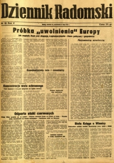Dziennik Radomski, 1944, R. 5, nr 165