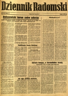 Dziennik Radomski, 1944, R. 5, nr 167