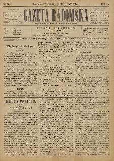 Gazeta Radomska, 1885, R. 2, nr 37