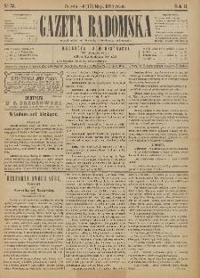 Gazeta Radomska, 1885, R. 2, nr 39