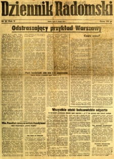 Dziennik Radomski, 1944, R. 5, nr 197