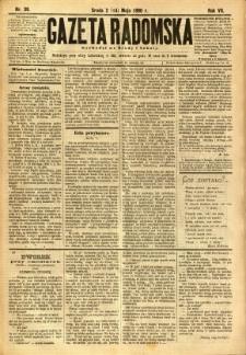 Gazeta Radomska, 1890, R. 7, nr 39